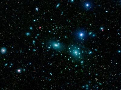 Aglomerado Coma (Fonte: NASA)