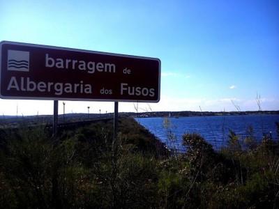 Barragem de Albergaria dos Fusos, Cuba