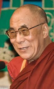 Tenzin Gyatso, actual Dalai Lama.