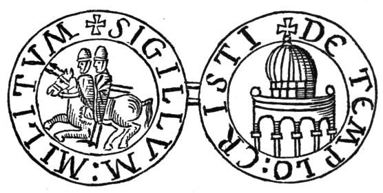 Escudo Ordem dos Templários