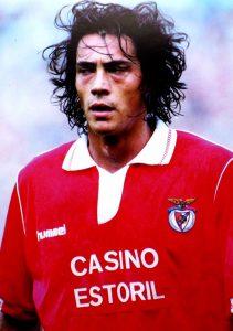 Paulo Sousa quando representava o Sport Lisboa e Benfica
