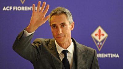 Paulo Sousa, new head coach of Fiorentina during the press conference of presentation, Florence, 22 June 2015. ANSA/ MAURIZIO DEGL'INNOCENTI