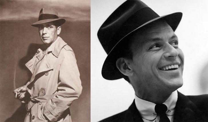 Humphrey Bogart como Rick Blaine e Frank Sinatra