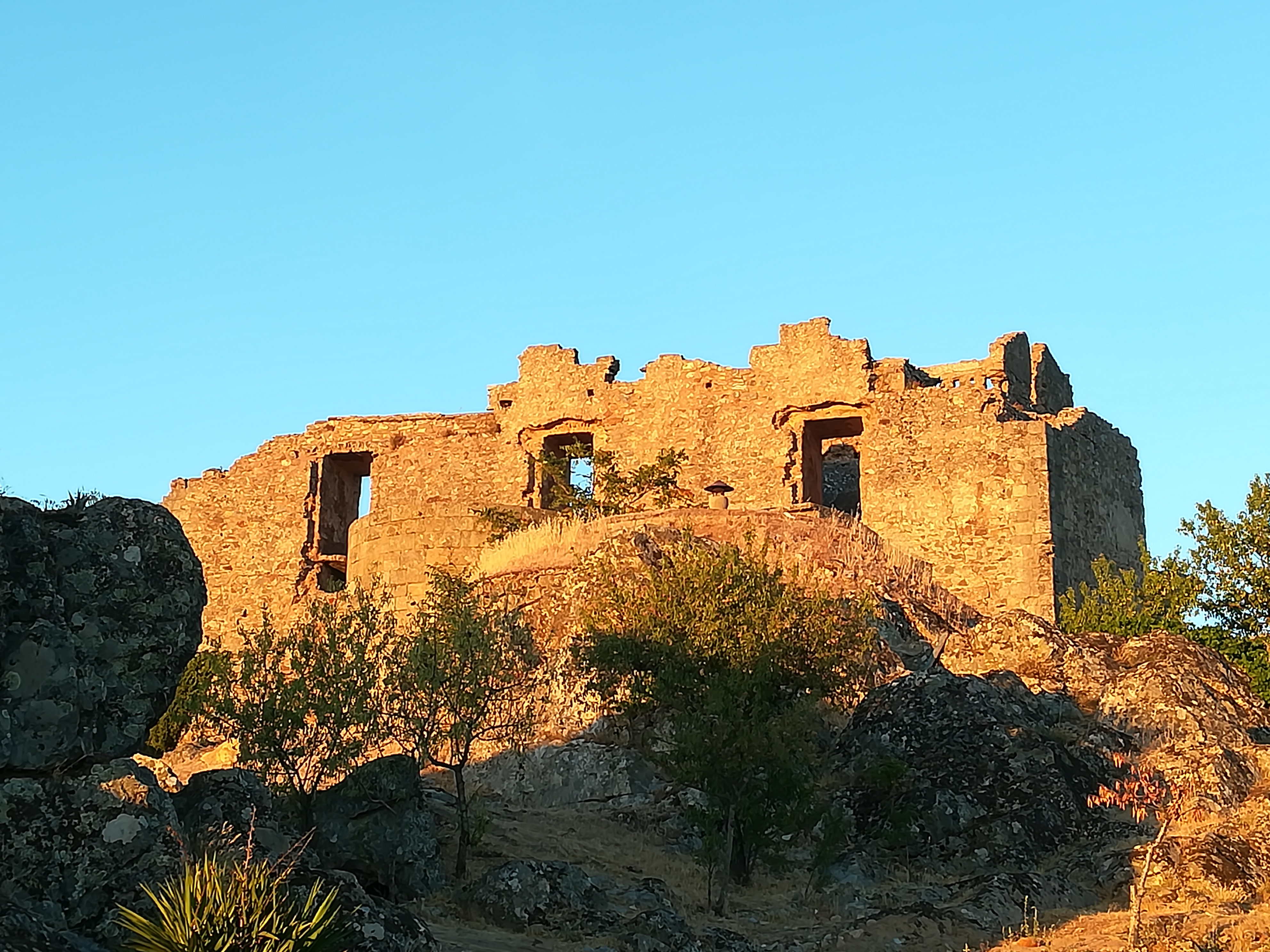 Ruínas do Palácio