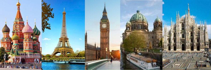 Maiores cidade da europa