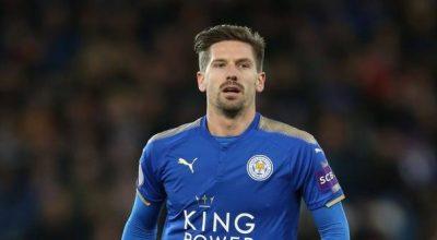 Adrien Silva ao serviço do Leicester City