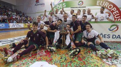 Seleção Portuguesa de Hóquei em Patins Masculinos, Campeões Europeus de Hóquei em Patins em 2016