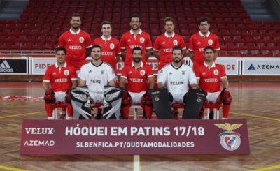 Equipa Sénior Masculina do Sport Lisboa e Benfica Época 2017/18