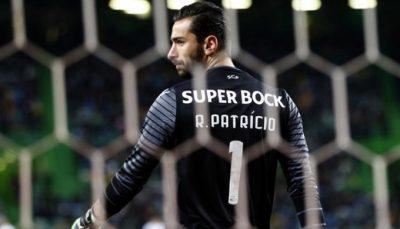 Rui Patrício ao serviço do Sporting Clube de Portugal