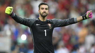 Rui Patrício ao serviço da seleção portuguesa