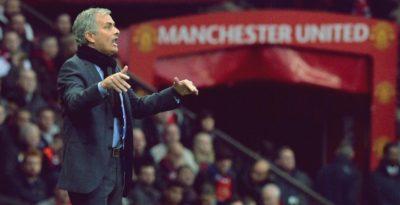 Mourinho como treinador do Manchester United