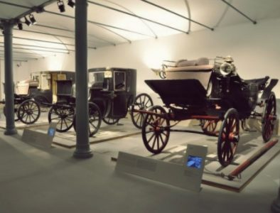 Exposição permanente no museu: «O motor da República: Os carros dos Presidentes»