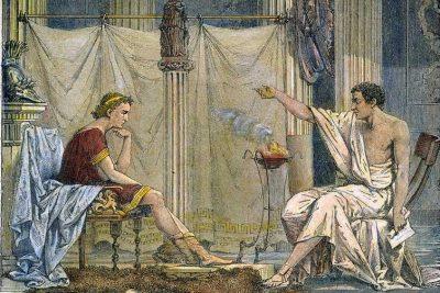 Aristóteles e Alexandre Magno