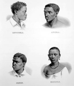 Obra de Rugendas, Escravos Benguela.