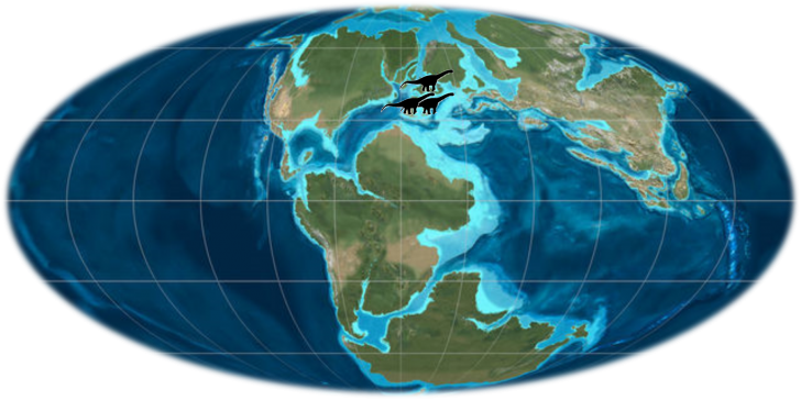 Aragossauro-mapa
