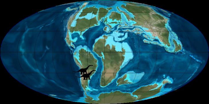 Argentinossauro-mapa