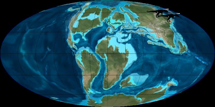Fukuiraptor-mapa