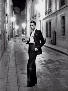 Prêt-à-Porter - Yves Saint Laurent, Style Rive Gauche - Helmut Newton (1975)