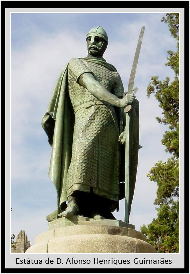 Estátua de D. Afonso Henriques em Guimarães