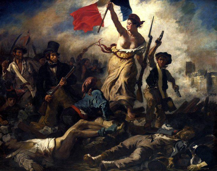La liberté guidant le peuple - Eugène_Delacroix_-_La_liberté_guidant_le_peuple