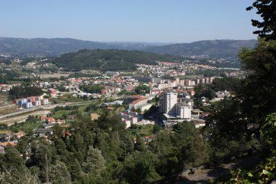 Vista sobre a Vila de Póvoa de Lanhoso