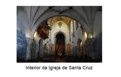 interior igreja santa cruz