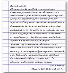 Carta De Agradecimento Knoow