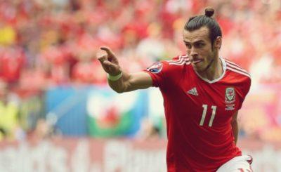 Bale ao serviço da seleção galesa