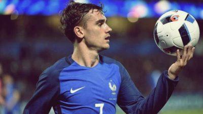 Griezmann na Seleção Francesa