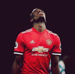Paul Pogba ao serviço do Manchester United
