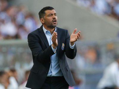 Sérgio Conceição na actual função de Treinador do FC Porto
