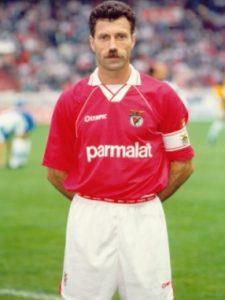 António Veloso como jogador do SL Benfica