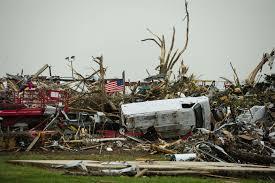 consequência de um tornado