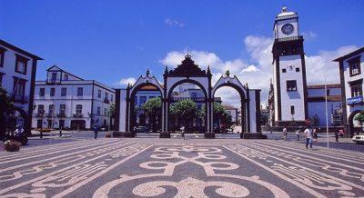 Ponta Delgada portas da cidade