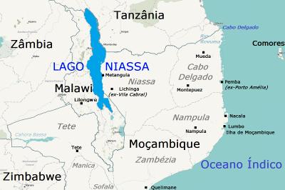Extensão do Lago Niassa