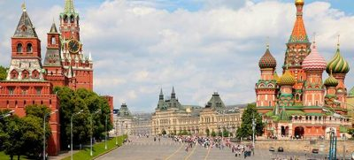 A capital russa ocupa o 2º lugar do ranking