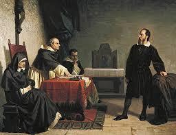 Galileu enfrentando a inquisição